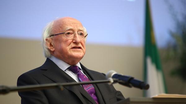 Michael D Higgins described degrading, discriminatory and sometimes violent treatment of members of the Defence Forces as shameful