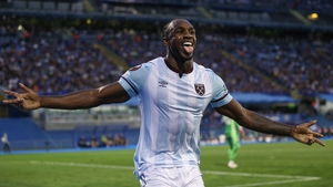Antonio opened the scoring for the Hammers