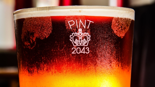 The plans include the return of the crown stamp on pint glasses