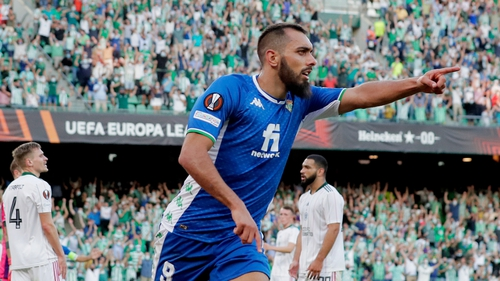 Borja Iglesias gave Betis a lead they would not relinquish