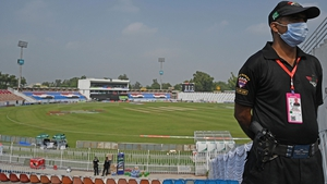 Rawalpindi Cricket Stadium in Punjab province was due to play host to Pakistan v New Zealand in the first of three one-day internationals on Friday