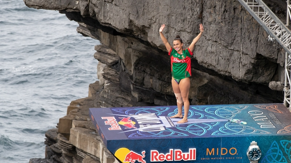 We headed West to meet those taking part in the 2021 Red Bull Cliff Diving World Series.