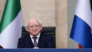 Michael D Higgins spoke about the centenary event during a visit to Rome