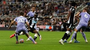 Allan Saint-Maximin scores for Newcastle