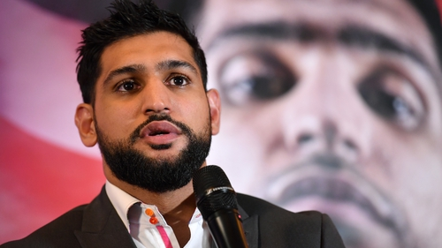 Amir Khan recorded a TKO win over Billy Dib in his most recent fight in 2019