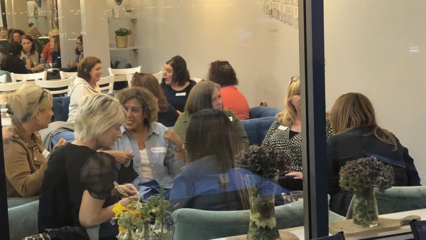 Menopause Cafés were launched in Scotland four years ago, to encourage conversations about it