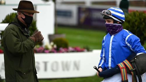 Willie Mullins and Paul Townend combined for a 13.44-1 treble