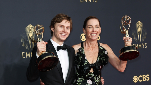Mare Of Easttown's Evan Peters and Julianne Nicholson