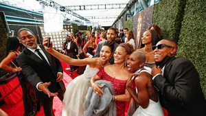 Red carpet fun at the 73rd Primetime Emmy Awards