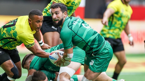 Ireland made it to the semi-finals (Pic: Irish Rugby Twitter)