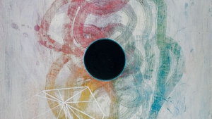 Aisling Conroy, detail from Alter Altar, acrylic on wood
