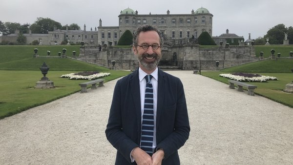 Author and historian Robert O'Byrne presents the new two-part RTÉ documentary Ireland's Historic Gardens