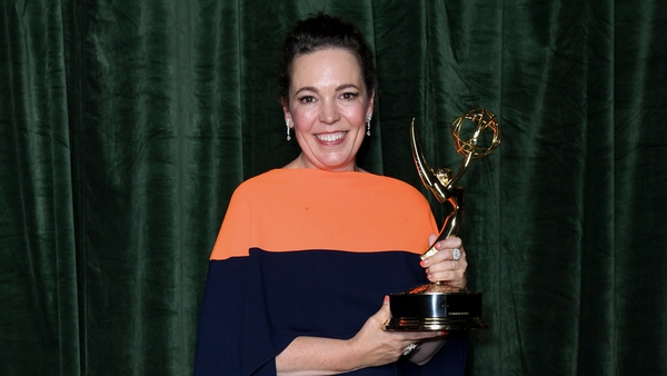 The Crown star Olivia Colman was among the Emmy winners
