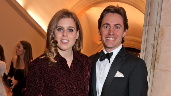 Princess Beatrice and Edoardo Mapelli Mozzi (pictured in London in March 2019) - Daughter born on Saturday