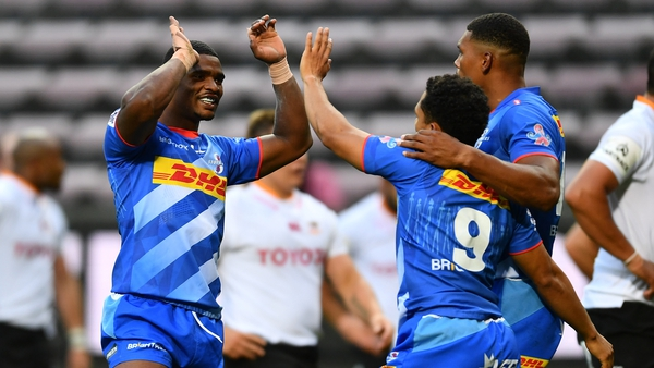 Damien Willemse (l) and Herschel Jantjies (9) are two of the Stormers' key players