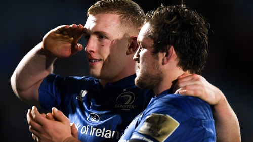 Dan Leavy and Andrew Porter (l) may see action on Saturday