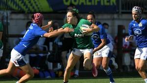 Beibhinn Parsons won her 13th cap against Italy