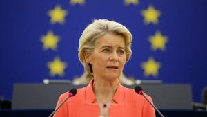 "Ursula von der Leyen said Brussels would want to ""clarify"" what had happened"