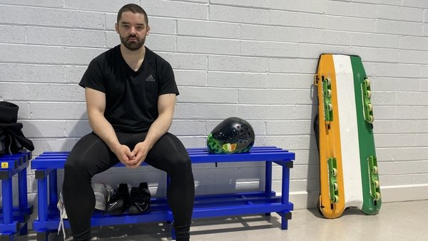 Brendan Doyle is a skeleton high-performance athlete with his sights set on Beijing 2022