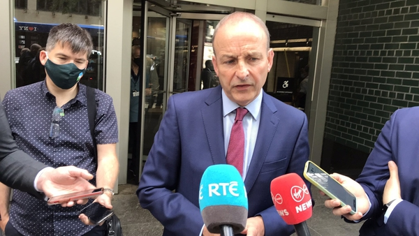 Micheál Martin said there is 'still a journey to travel' on Corporation Tax