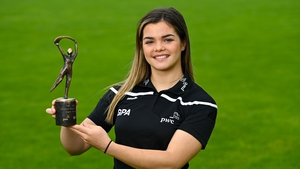 Antrim's Maeve Kelly was a PwC GPA Women's Player of the Month award winner for September.