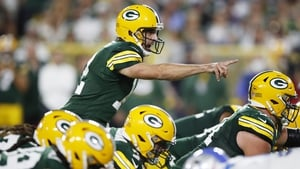 Aaron Rodgers was back to his best