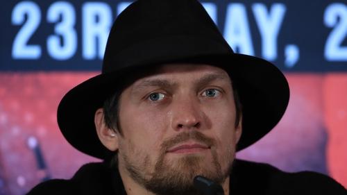 Oleksandr Usyk is unbeaten in 18 career fights