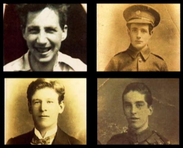 Frank Flood, Bernard Ryan, Patrick Doyle and Thomas Byran, executed during the War of Independence at Mountjoy Prison