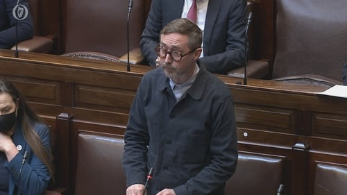 Eoin Ó Broin put questions to the Tánaiste during today's Leaders' Questions
