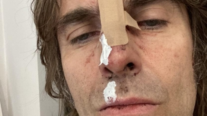 Liam Gallagher: you should've seen the helicopter . . .