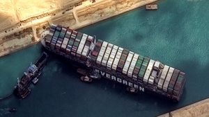 The six-day blockage of the Suez Canal just added to the significant backlog in global trade