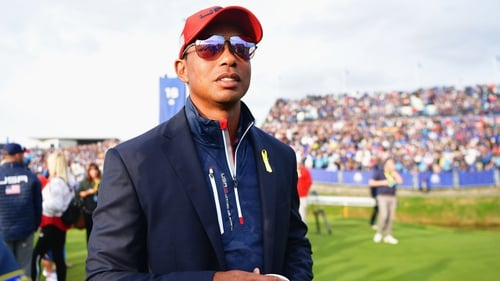Tiger Woods will be backing the USA this week