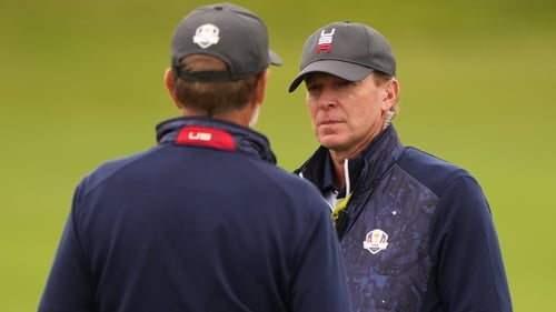 Steve Stricker is hoping a trend that has seen the home side win six of the last seven Ryder Cups continues this week in Wisconsin