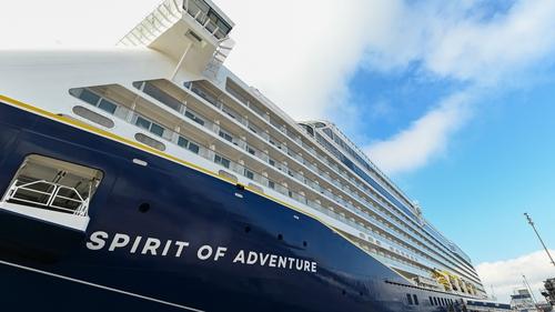Saga Cruises' new ship the 'Spirit of Adventure'