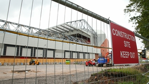 Anfield is undergoing an expansion