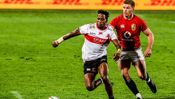 Rabz Maxwane is set to be the Lions' most dangerous weapon