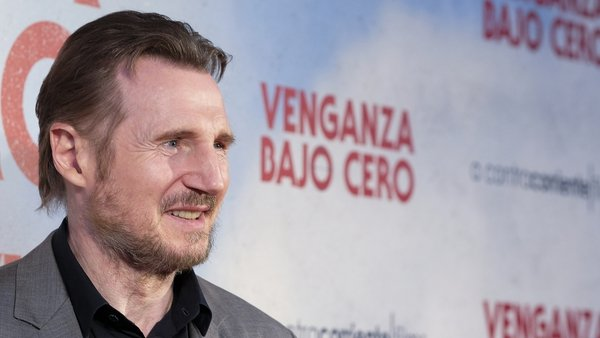Liam Neeson (pictured in Madrid in July 2019) - Reuniting with Honest Thief director Mark Williams