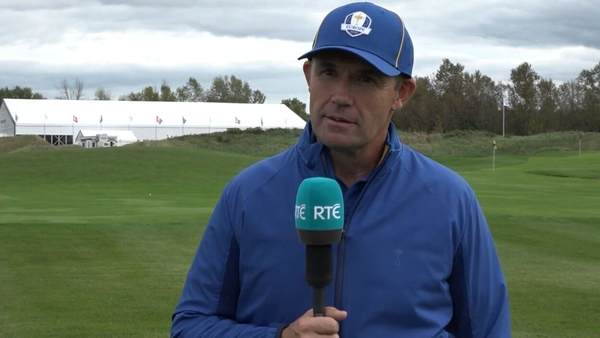 'We all watched the Solheim Cup and we all learned from that,' says Harrington
