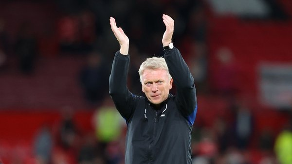 David Moyes applauds Hammers fans at Old Trafford
