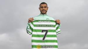 Giorgos Giakoumakis could make a belated debut for Cetlic