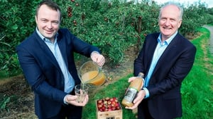 Peter Bough, Buying Director with Aldi Ireland and Peter Mulrine, Managing Director of Mulrines
