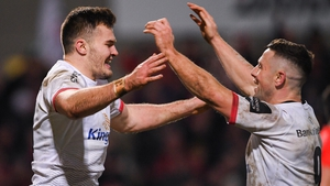 Jacob Stockdale and John Cooney are named in an exciting backline