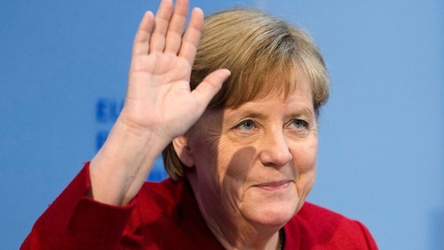 Angela Merkel has indicated she would like to continue to work on environmental issues