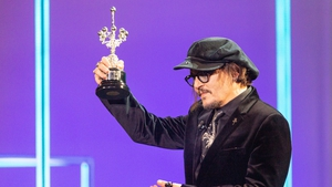 US actor Johnny Depp receives the Donostia Award in recognition of his acting career within the 69th San Sebastian Film Festival in San Sebastian, Spain