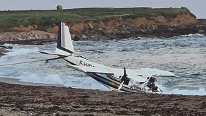 It is understood the light aircraft suffered technical difficulties