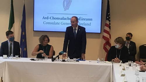 A range of organisations attended the event with Taoiseach Micheál Martin