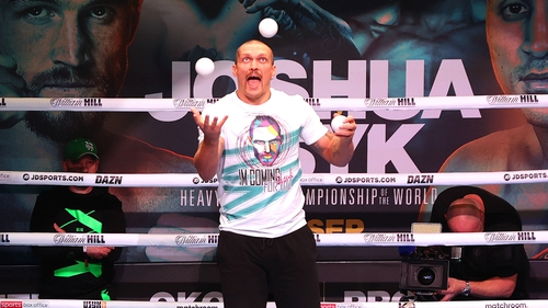 Boxing it the priority for now, but Oleksandr Usyk likes to keep several balls in the air