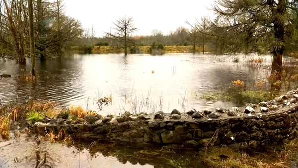 Water levels at Lough Funshinagh are already over half a metre higher than this time last year