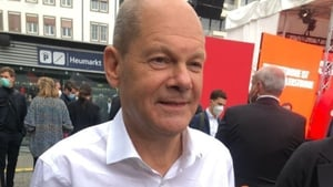 Olaf Scholz of the SPD is one of two candidates running neck-and-neck to replace Angela Merkel as German chancellor