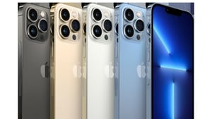 The iPhone 13 Pro Max comes in four different colours